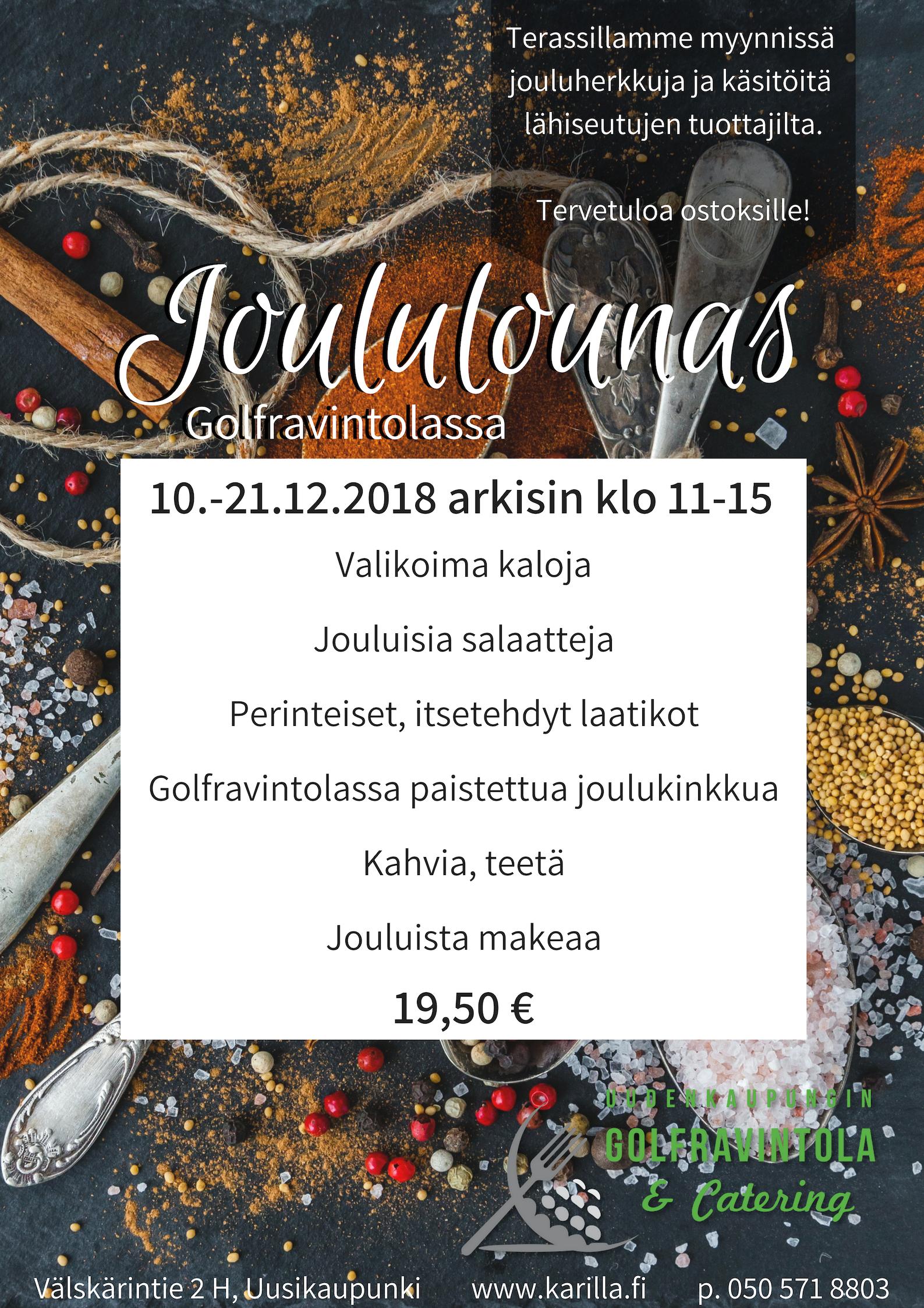 Joululounas 2018